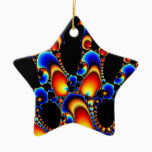 It - Mandelbrot Fractal Art Ceramic Ornament