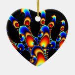 It - Mandelbrot Fractal Art Christmas Ornaments