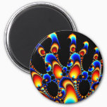 It - Mandelbrot Fractal Art Magnet