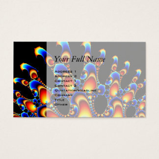 It - Mandelbrot Fractal Business Card