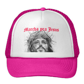 It marches for Jesus Trucker Hats