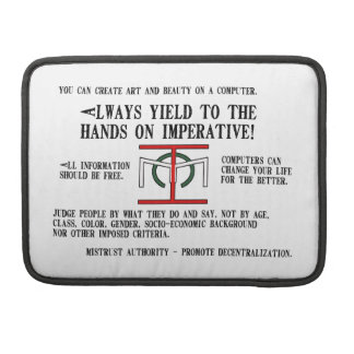 It Matters EHC Ethic Mousepad Sleeves For MacBook Pro