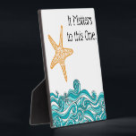 """It Matters to This One Starfish Plaque<br><div class=""""desc"""">Based on the beloved &quot;Starfish Story&quot;-- encouragement to make a difference, even if it seems small and insignificant. """"Once upon a time, there was a wise man who used to go to the ocean to do his writing. He had a habit of walking on the beach before he began his...</div>"""