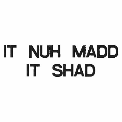 IT NUH MADDIT SHAD POLO SHIRT