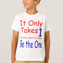It Only Takes One Kids' Shirt