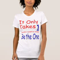 It Only Takes One Raglan Cap Sleeve T-Shirt