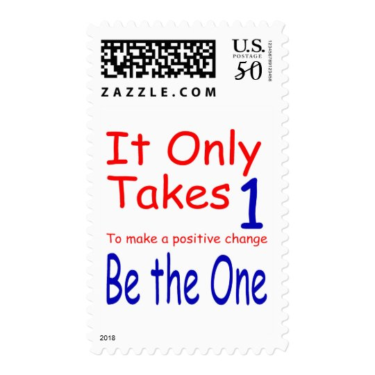 It Only Takes One Stamp