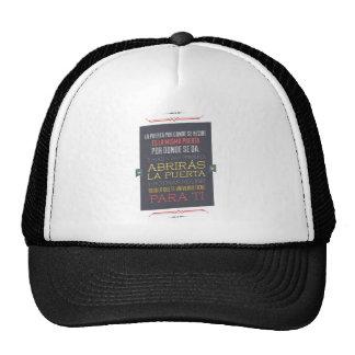 It opens the doors trucker hat