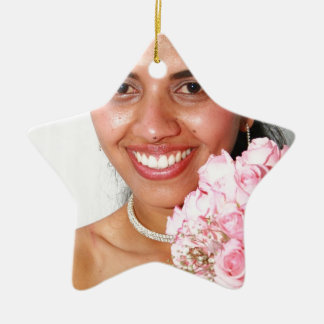 It personalizes as to want! ceramic ornament