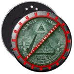 It plates Anti Illuminati Pins