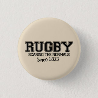 It plates Quote Rugby Pinback Button