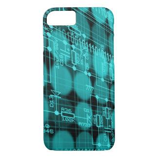IT programmer high tech computer circuit board iPhone 7 Case