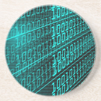 IT programming  computer binary code programmer Coaster