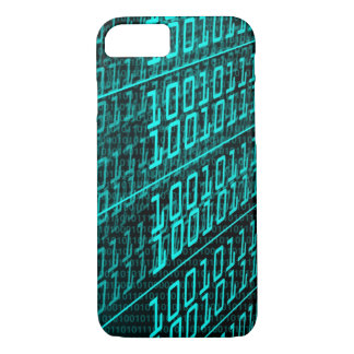 IT programming  computer binary code programmer iPhone 7 Case