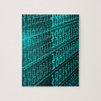 IT programming  computer binary code programmer Jigsaw Puzzle