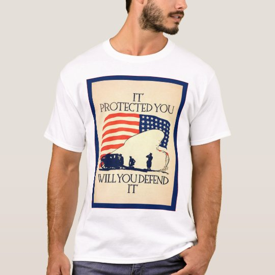 It Protected You ~ Vintage World War 1 T-Shirt