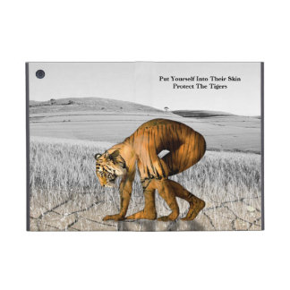 It protects the tigers case for iPad mini