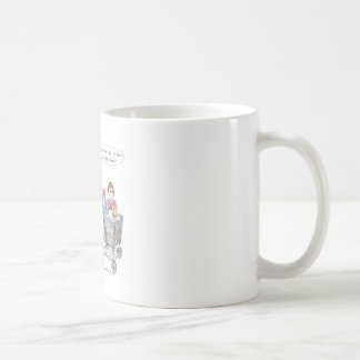 It Puts the Chicken in the Basket Coffee Mug