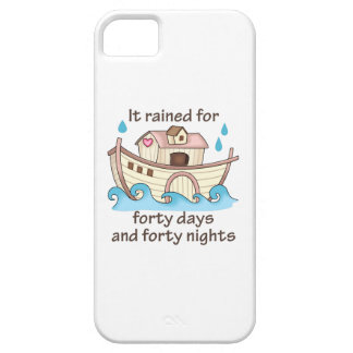 IT RAINED FORTY DAYS iPhone 5 CASE
