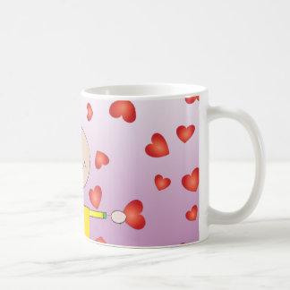 'It rains love'mug