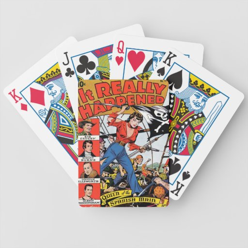 It Really Happened Bicycle Playing Cards