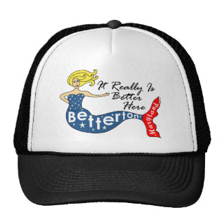 It Really Is Better...Betterton, Maryland Mermaid Mesh Hats