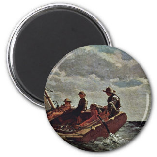 It Refreshes By Homer Winslow (Best Quality) Magnet