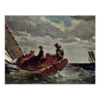 It Refreshes By Homer Winslow (Best Quality) Postcard