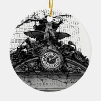 It´s 10:10 A.M. in New York Ceramic Ornament