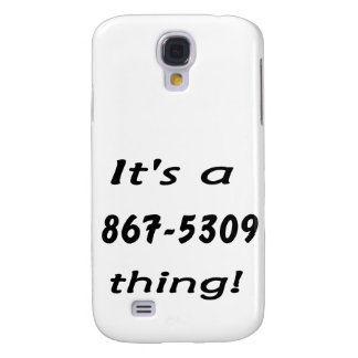 it s a 867-5309 thing samsung galaxy s4 case