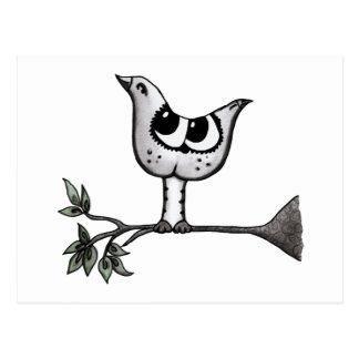 It's a bird... it's a cat! -Optical Illusion Postcard