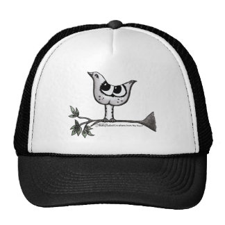 It's a bird... it's a cat! -Optical Illusion Trucker Hat