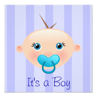 It´s a Boy - Baby Shower Invitation