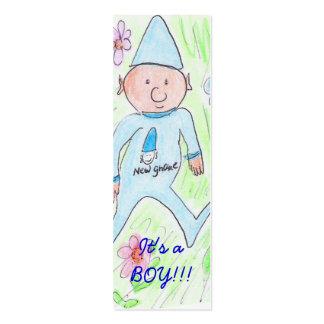 It s a BOY Business Card Templates