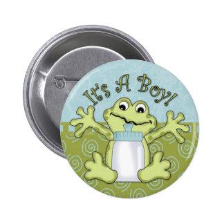 It s A Boy Button