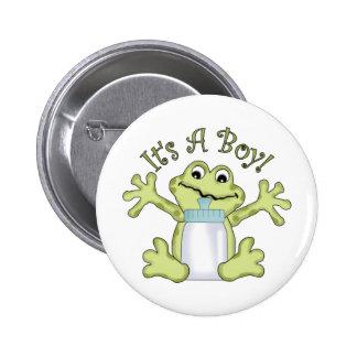 It s A Boy Pinback Buttons