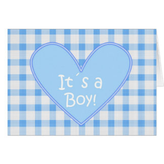 It´s a Boy Card