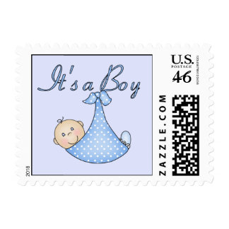 It s a Boy postage stamps