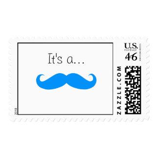 It s a BOY Stache Stamp