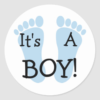 It s A Boy Sticker
