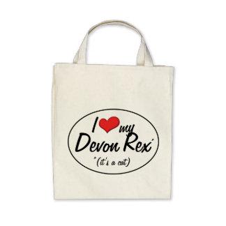 It s a Cat I Love My Devon Rex Tote Bag