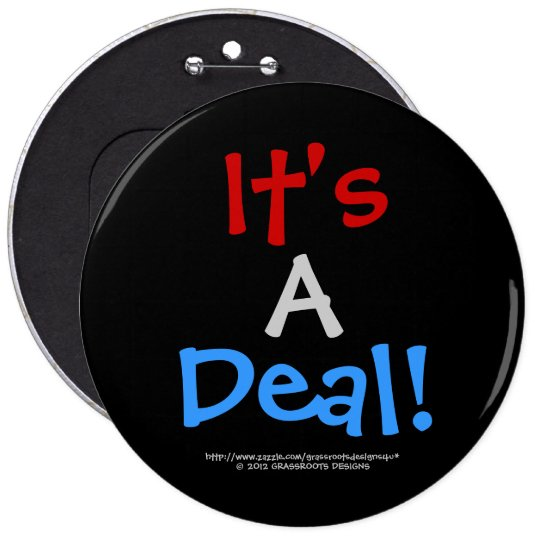 It's A Deal! Customizable Background_5 Button
