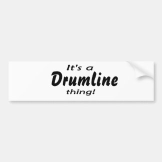 It s a drumline thing bumper stickers