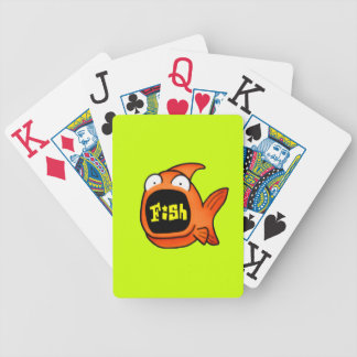 It's A Fish Bicycle Playing Cards