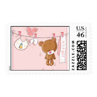 It s a Girl Baby Postage