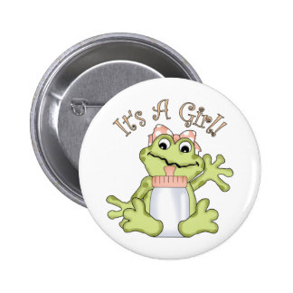 It s A Girl Pins