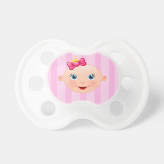 It´s a Girl - Pink Pacifier