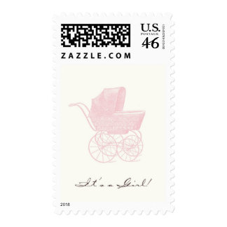 It s a Girl Postage