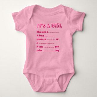 It s. a. girl rompertje baby bodysuit