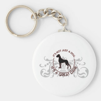 It s a Great Dane Keychains